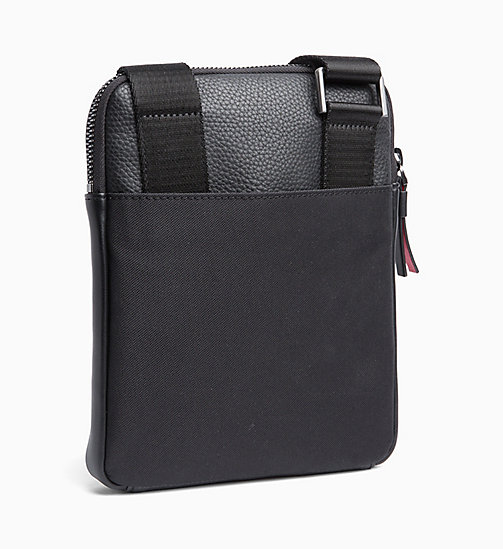 CALVINKLEIN Flat Cross Body Bag - BLACK - CALVIN KLEIN NEW IN - detail image 1