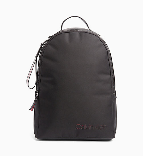 CALVIN KLEIN Round Backpack - BLACK - CALVIN KLEIN BACKPACKS - main image