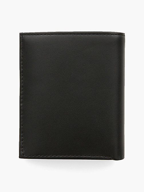 CALVINKLEIN Mini Leather Wallet - BLACK - CALVIN KLEIN WALLETS & SMALL ACCESSORIES - detail image 1