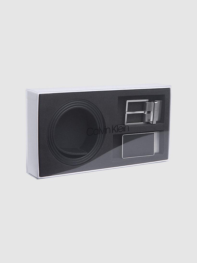 1db45f59edd017 Cintura in pelle in confezione regalo da Calvin Klein® | K50K504312001