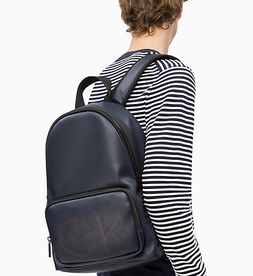 CALVIN KLEIN Round Backpack - NAVY - CALVIN KLEIN NEW IN - detail image 1