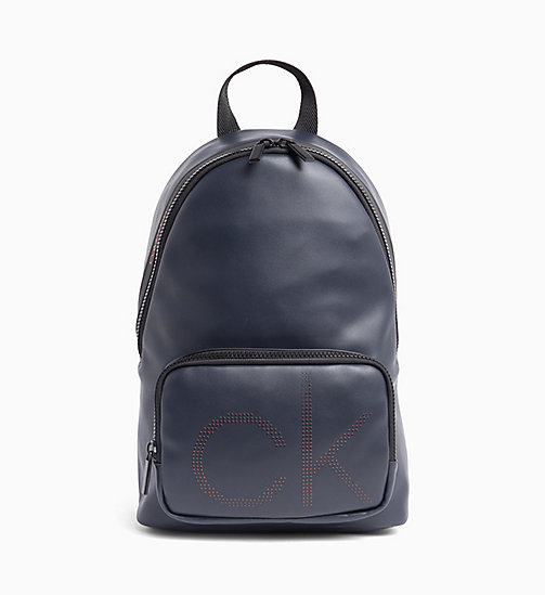 CALVIN KLEIN Round Backpack - NAVY - CALVIN KLEIN NEW IN - main image