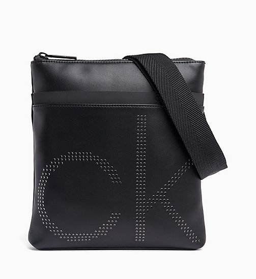 CALVIN KLEIN Logo Cross Body Bag - BLACK - CALVIN KLEIN VALENTINES - main image