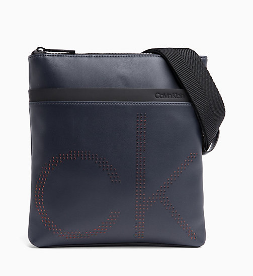 CALVIN KLEIN Logo Cross Body Bag - NAVY - CALVIN KLEIN NEW IN - main image