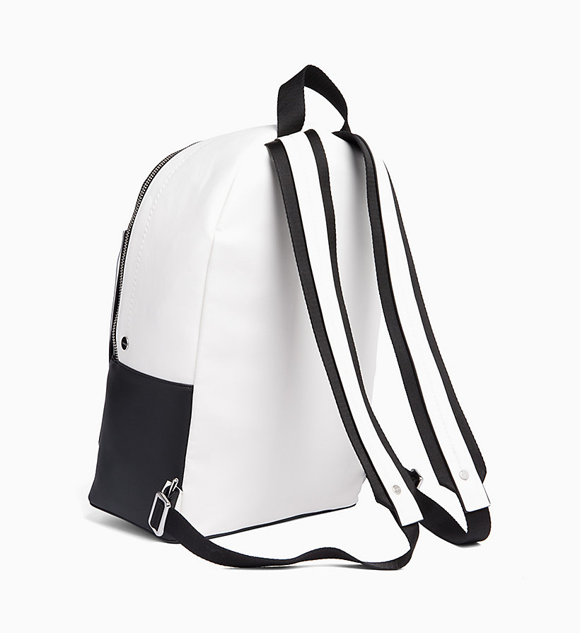 CALVIN KLEIN Round Backpack - EMRALD/WHITE - CALVIN KLEIN MEN - detail image 1