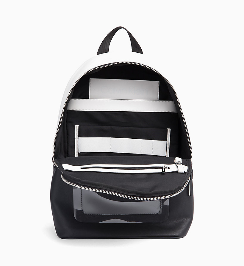 CALVIN KLEIN Round Backpack - EMRALD/WHITE - CALVIN KLEIN MEN - detail image 2