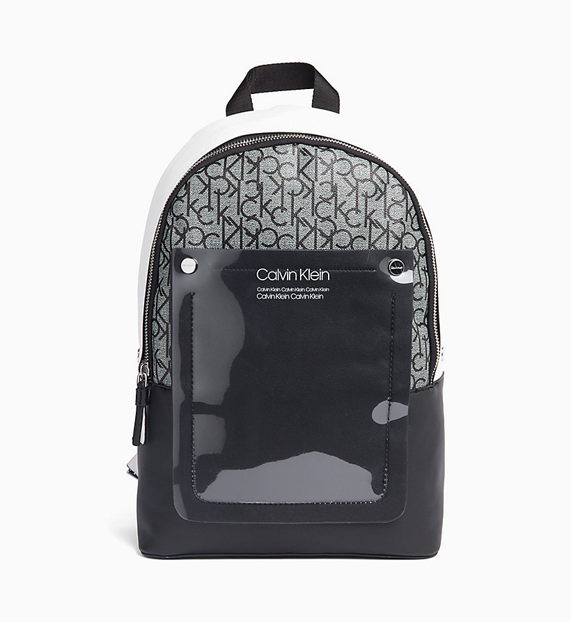 CALVIN KLEIN Round Backpack - EMRALD/WHITE - CALVIN KLEIN MEN - main image