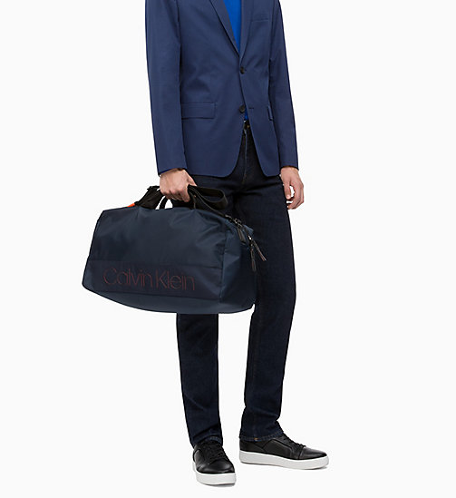 CALVIN KLEIN Duffle Bag - NAVY - CALVIN KLEIN NEW IN - detail image 1