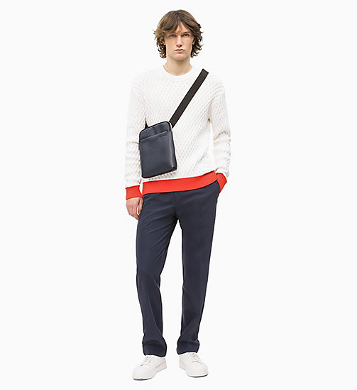 CALVIN KLEIN iPad Flat Cross Body Bag - NAVY - CALVIN KLEIN NEW IN - detail image 1