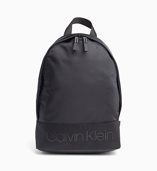 CALVIN KLEIN Round Backpack - BLACK - CALVIN KLEIN NEW IN - main image