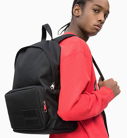 CALVIN KLEIN JEANS Round Backpack - BLACK - CALVIN KLEIN JEANS NEW IN - detail image 1
