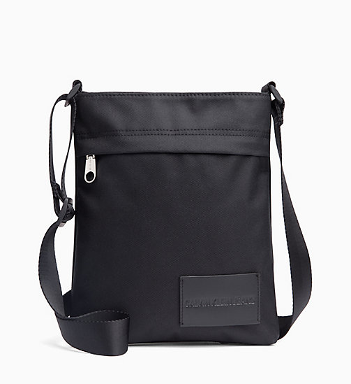 CALVIN KLEIN JEANS Flache Crossover-Bag - BLACK - CALVIN KLEIN JEANS NEW IN - main image