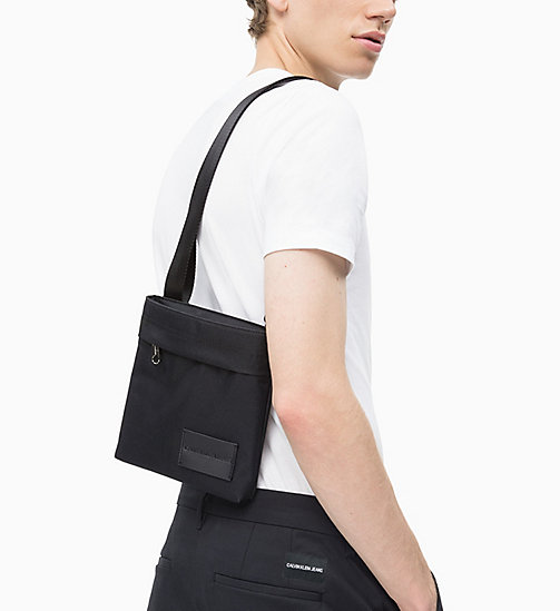 CALVIN KLEIN JEANS Micro Flat Cross Body Bag - BLACK - CALVIN KLEIN JEANS NEW IN - detail image 1