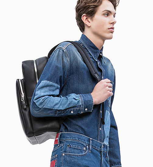 CALVIN KLEIN JEANS Square Backpack - BLACK - CALVIN KLEIN JEANS NEW IN - detail image 1