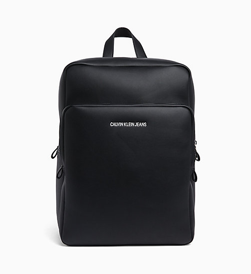 CALVIN KLEIN JEANS Square Backpack - BLACK - CALVIN KLEIN JEANS NEW IN - main image