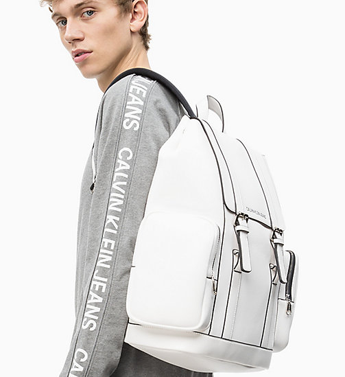 CALVIN KLEIN JEANS Backpack - BRIGHT WHITE - CALVIN KLEIN JEANS VALENTINES - detail image 1