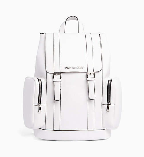 CALVIN KLEIN JEANS Backpack - BRIGHT WHITE - CALVIN KLEIN JEANS VALENTINES - main image
