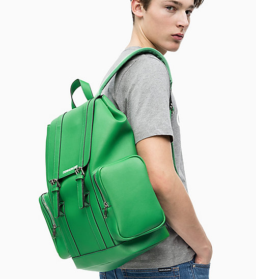 CALVIN KLEIN JEANS Backpack - FERN GREEN - CALVIN KLEIN JEANS NEW IN - detail image 1