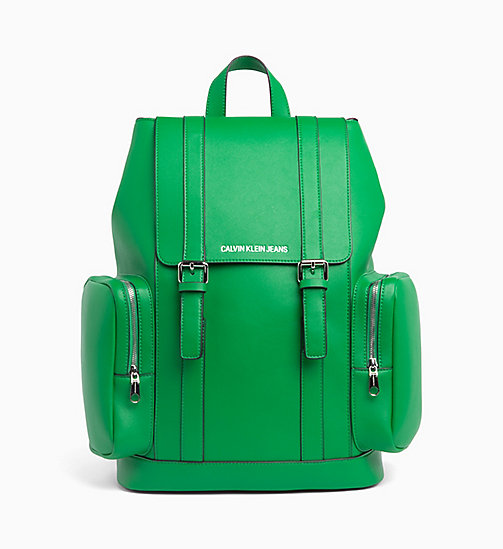 CALVIN KLEIN JEANS Backpack - FERN GREEN - CALVIN KLEIN JEANS NEW IN - main image