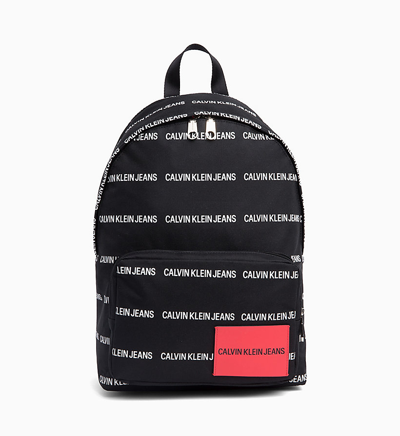 CALVIN KLEIN JEANS Round Backpack - CHECKERED PRINT - CALVIN KLEIN JEANS MEN - main image