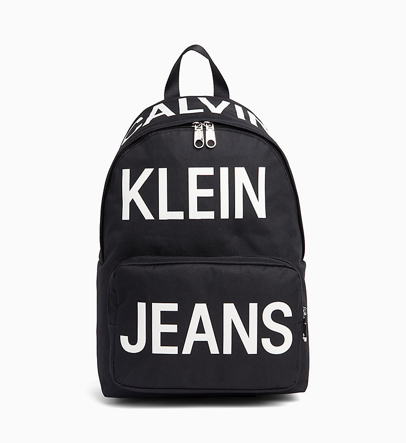 CALVIN KLEIN JEANS Round Backpack - LOGO MARQUEE - CALVIN KLEIN JEANS MEN - main image