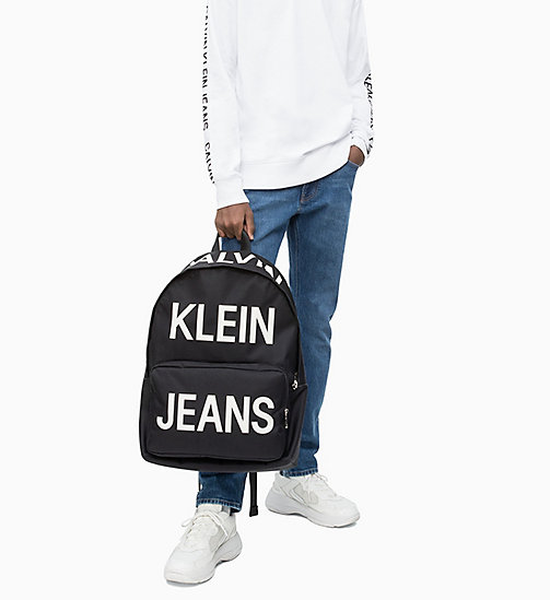 CALVIN KLEIN JEANS Round Backpack - BILLBOARD PRINT - CALVIN KLEIN JEANS NEW IN - detail image 1