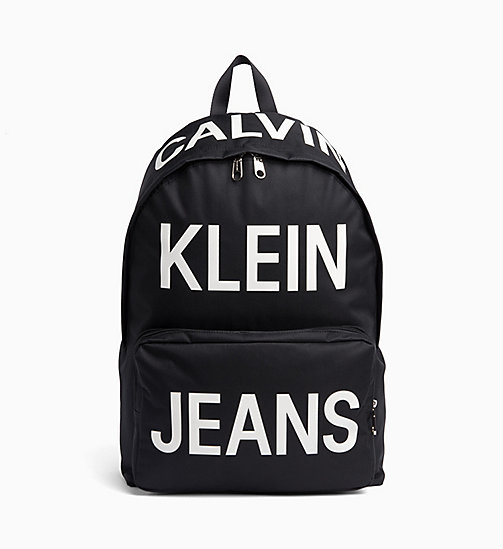 CALVIN KLEIN JEANS Round Backpack - BILLBOARD PRINT - CALVIN KLEIN JEANS NEW IN - main image
