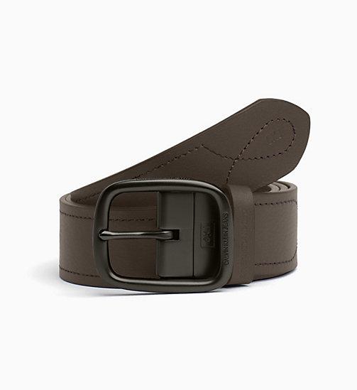 08f04525ceb Men's Belts | Leather & Web Belts | CALVIN KLEIN® - Official Site