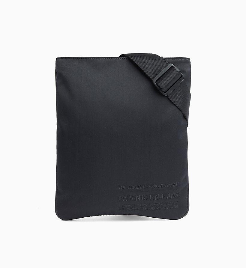 y 3 borsa shopping in twill di nylon con logo nero uomo