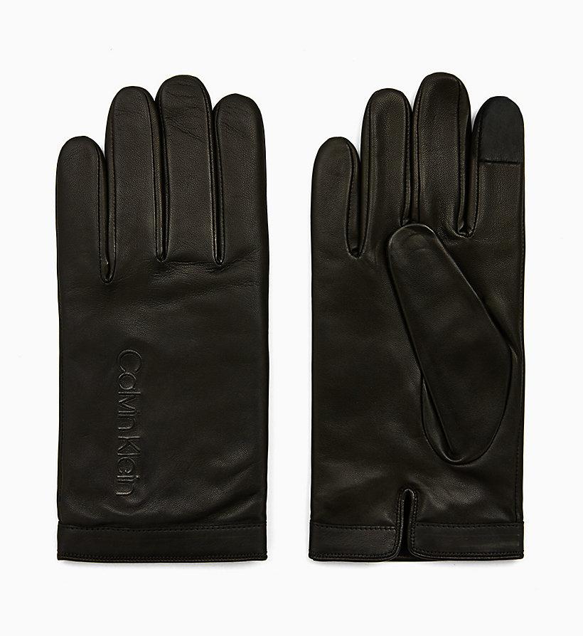 Touchscreen Handschuhe aus Leder CALVIN KLEIN® | K50K505045BDS