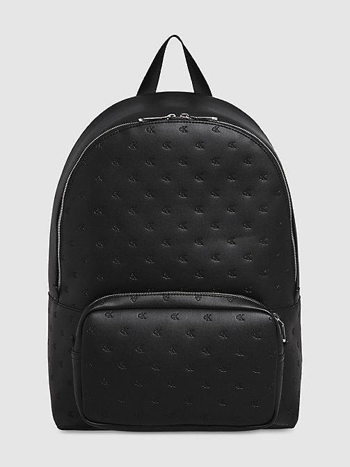 Calvin Klein Black Backpacks For Men on