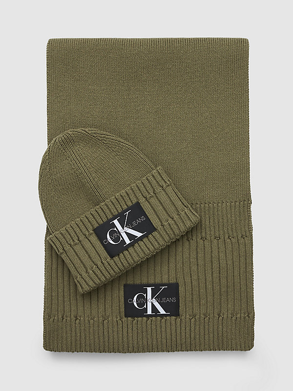 CALVIN KLEIN JEANS  - OLIVE NIGHT -   - main image
