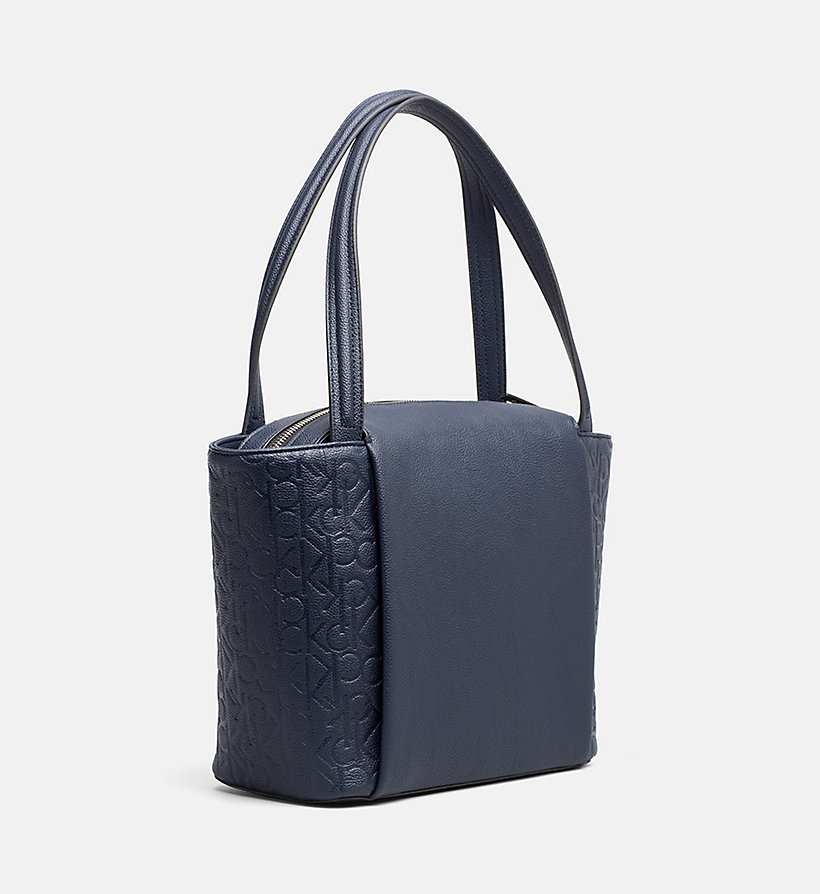 CALVINKLEIN Medium Logo Tote Bag - MUSHROOM - CALVIN KLEIN WOMEN - detail image 3