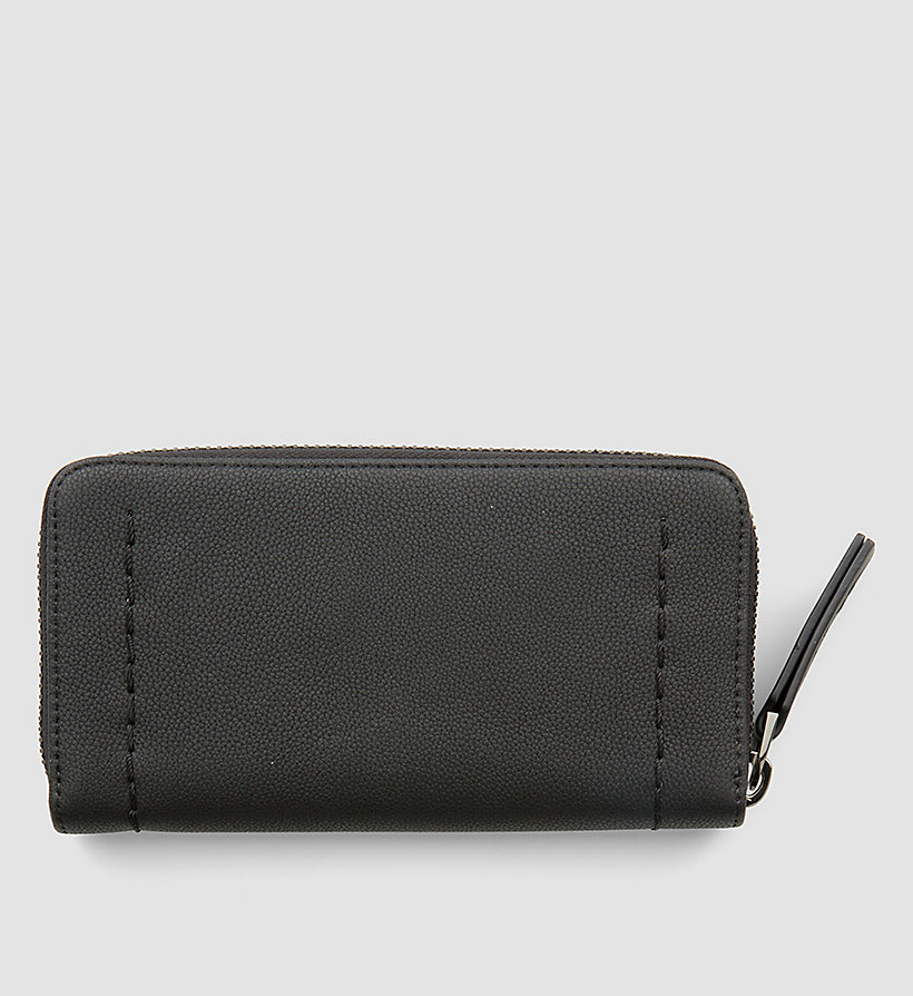 CALVINKLEIN Large Zip-Around Wallet - TAUPE - CALVIN KLEIN WOMEN - detail image 2