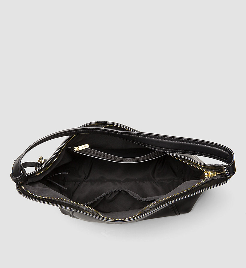 CALVINKLEIN Leather Hobo - MUSHROOM - CALVIN KLEIN WOMEN - detail image 2