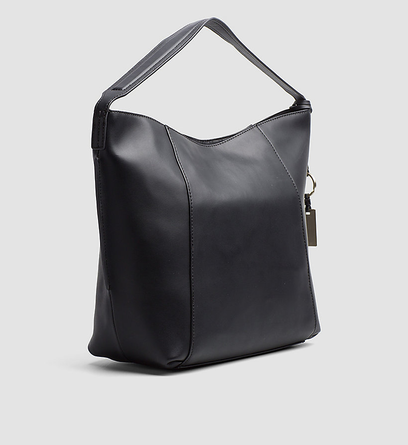 CALVINKLEIN Leather Hobo - MUSHROOM - CALVIN KLEIN WOMEN - detail image 3