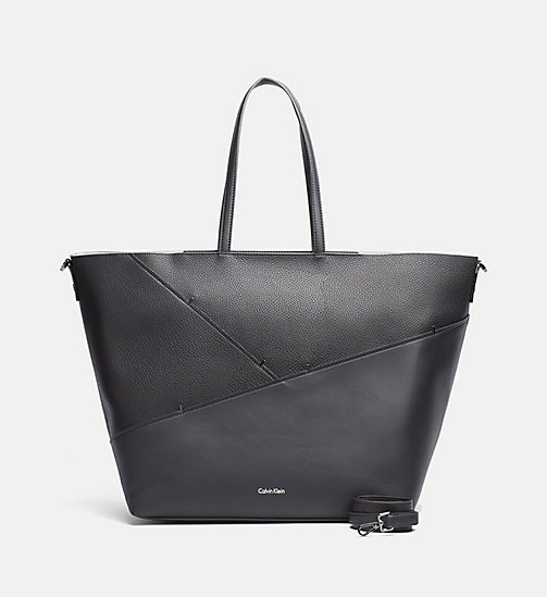 CALVINKLEIN Large Staple Tote Bag - BLACK - CALVIN KLEIN SHOES & ACCESORIES - main image