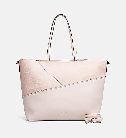 CALVINKLEIN Medium Staple Tote Bag - SOFT PINK - CALVIN KLEIN SHOES & ACCESORIES - main image