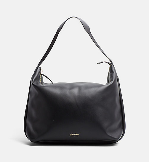 CALVINKLEIN Large Hobo - BLACK - CALVIN KLEIN BAGS & ACCESSORIES - main image