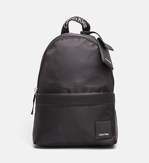 CALVINKLEIN Nylon Backpack - BLACK - CALVIN KLEIN BACKPACKS - main image