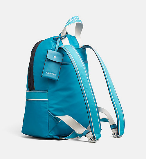 CALVINKLEIN Nylon Backpack - TURQUOISE - CALVIN KLEIN BACKPACKS - detail image 1