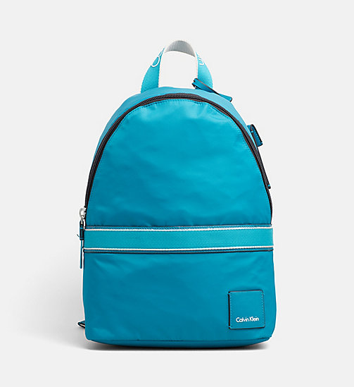 CALVINKLEIN Nylon Backpack - TURQUOISE - CALVIN KLEIN BACKPACKS - main image