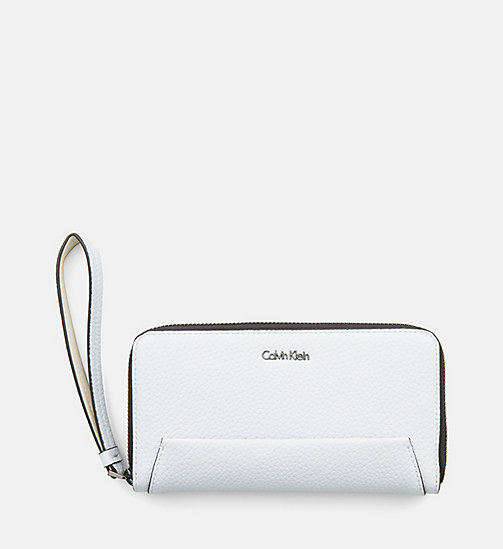 CALVINKLEIN Large Zip-Around Wallet - DUSTY LAVENDER - CALVIN KLEIN WALLETS & SMALL ACCESSORIES - main image