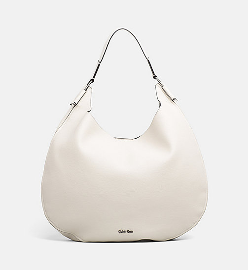 CALVINKLEIN Round Hobo - CEMENT - CALVIN KLEIN SHOES & ACCESORIES - main image