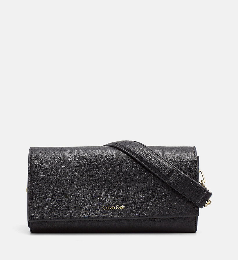 CALVINKLEIN Clutch on Chain - CEMENT - CALVIN KLEIN WOMEN - main image