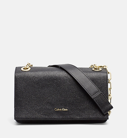 CALVINKLEIN Convertible Shoulder Bag - BLACK - CALVIN KLEIN NEW IN - main image