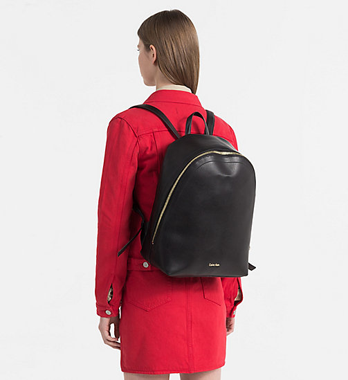 CALVINKLEIN Round Backpack - BLACK - CALVIN KLEIN SHOES & ACCESORIES - detail image 1