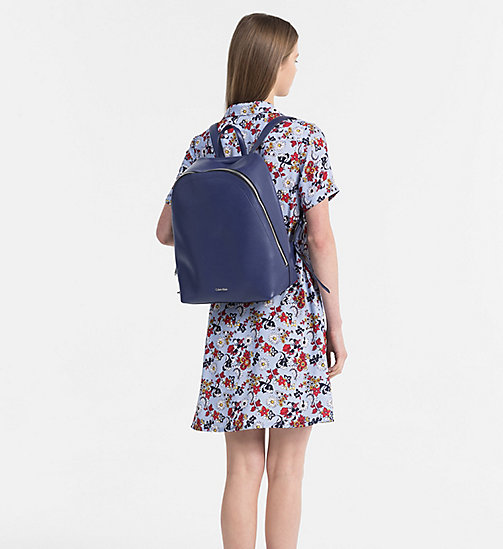 CALVINKLEIN Round Backpack - NAVY - CALVIN KLEIN BACKPACKS - detail image 1