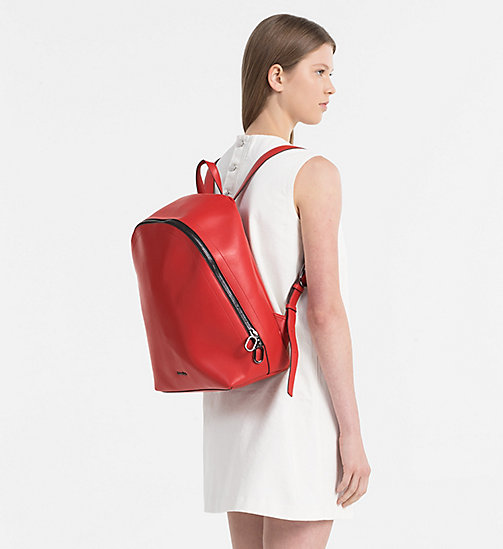 CALVINKLEIN Round Backpack - SCARLET - CALVIN KLEIN NEW IN - detail image 1