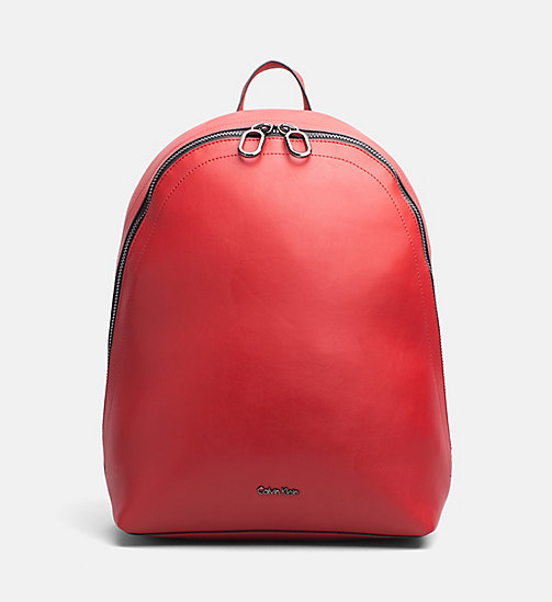 CALVINKLEIN Round Backpack - SCARLET - CALVIN KLEIN NEW IN - main image